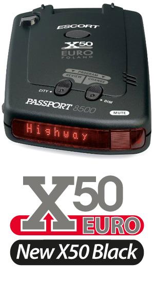 Escort Passport X50 Euro